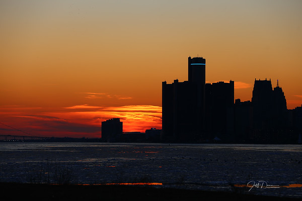 Sunset - Belle Isle - 2-22-2020