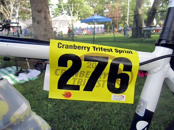 Cranberry Trifest Sprint - Scene