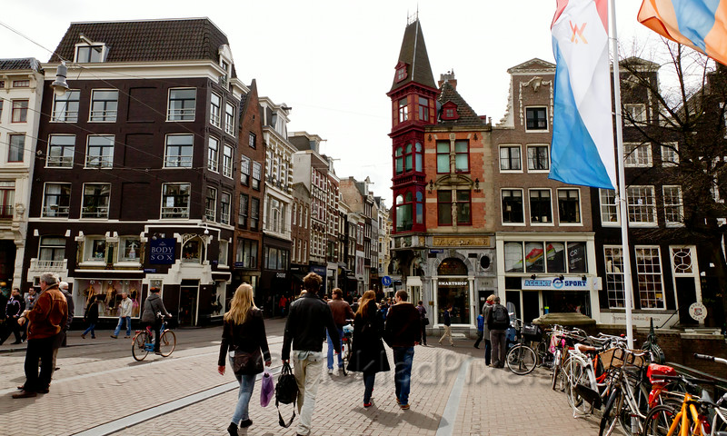 Amsterdam De Leidsestraat