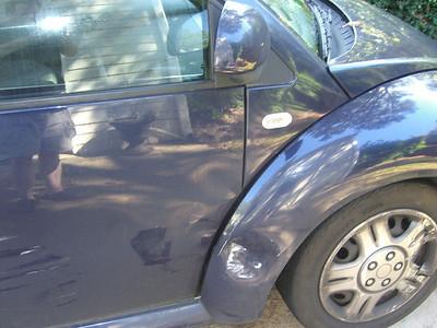10-10 - Wrecked Beetle - Smyrna, GA