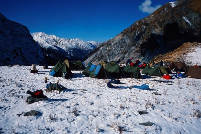 Népal-Trekking