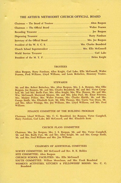 ARC011.  Arthur Methodist Church Dedication Day booklet – 20.jpg