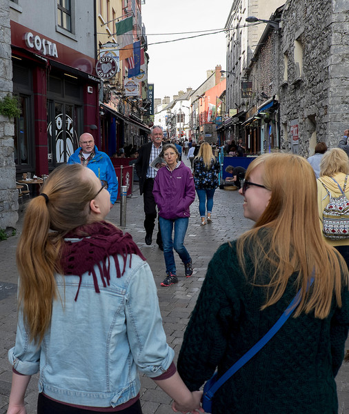 Downtown Galway.