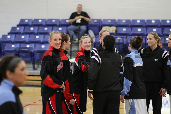 Southern Oregon University Womens Basketball vs Warner Pacific 02/19/2010