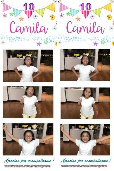 10 años Camila