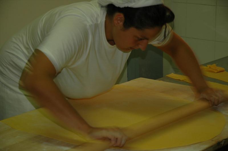 Paper Thin Pasta - Bologna, Italy