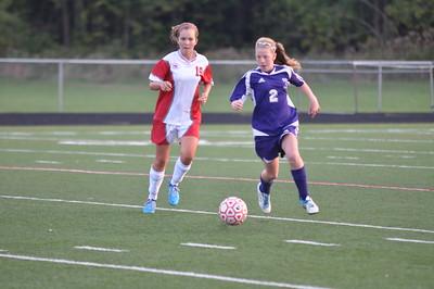 JVG Soccer vs Watertown 9-17-12