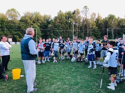 Coach Morrison (DeMatha) Visits 2025 Practice