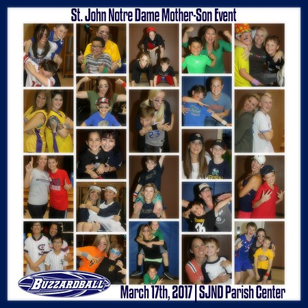 MARCH 17TH, 2017 | St. John Notre Dame Mother-Son Event