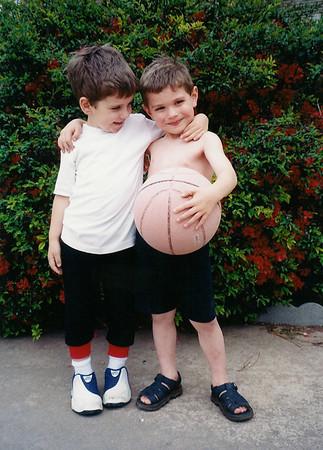 Zach and Mason