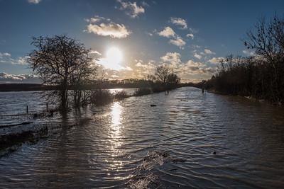 Barnby Dun floods January 2021