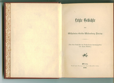 Antique German Books