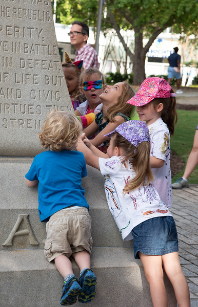 Pushing on the Confederate Monument