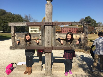 Williamsburg  - 7th Grade Overnight Trip