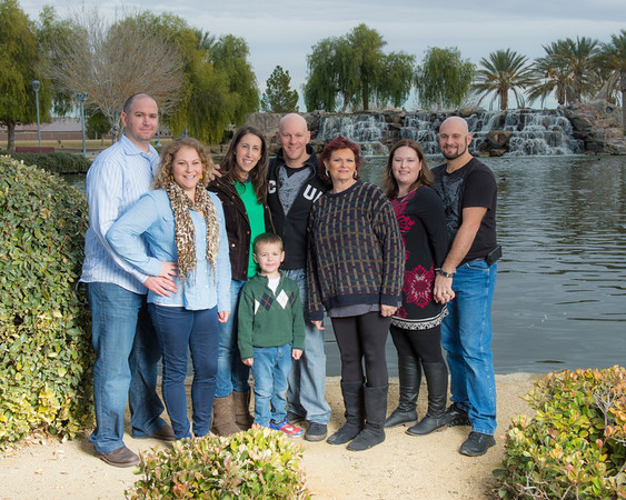 Family at Aliante Park