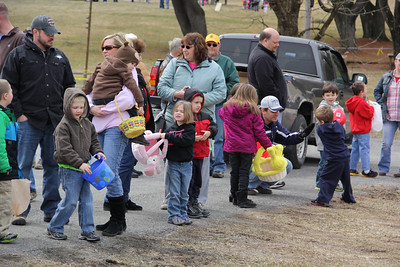 Community Easter Egg Hunt, West Penn Lions, Lioness, VFW, Andreas Sporting Club, Andreas (3-24-2013)