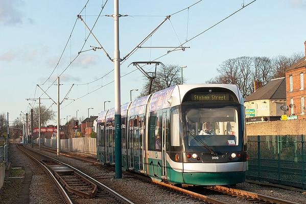 1st December 2012: Nottingham and Hucknall