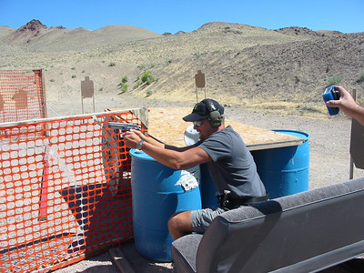 WNPL USPSA pistol match Aug. 2011