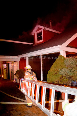 Structure Fire - Cecilwood Plaza - Village of Fishkill Fire Department - 10/11/2008