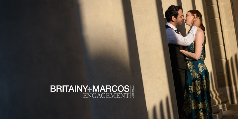 Britainy and Marcos (Engagement Photography) @ Legion of Honor & Baker Beach, San Francisco, California