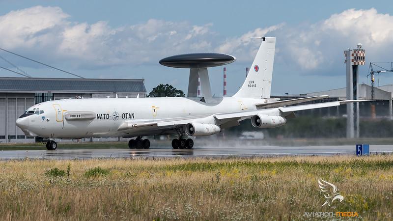 NATO / Boeing E-3A Sentry / LX-N90445