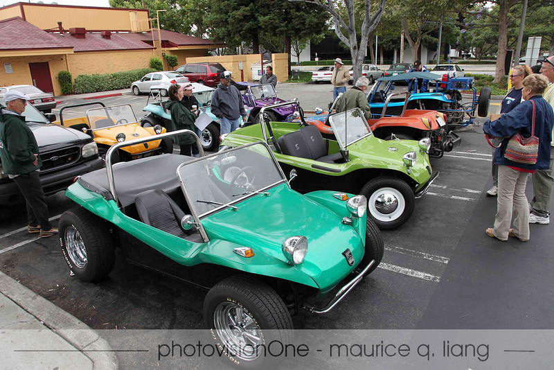 Manxes gather at Starbucks in the morning for the drive up to Alameda.