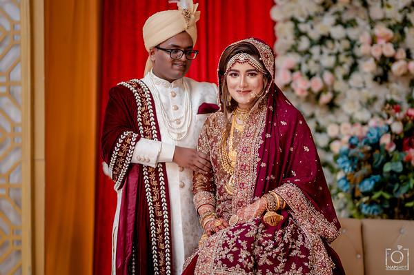 Mahdi and Tahiya Wedding