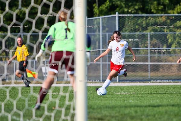 Varsity Girls Soccer v Central Noble