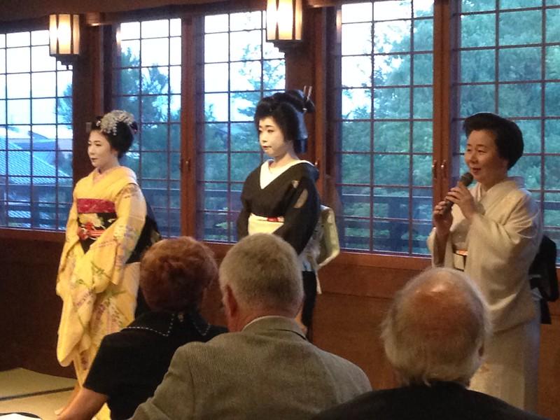 Geisha in Kyoto - Leslie Rowley S95