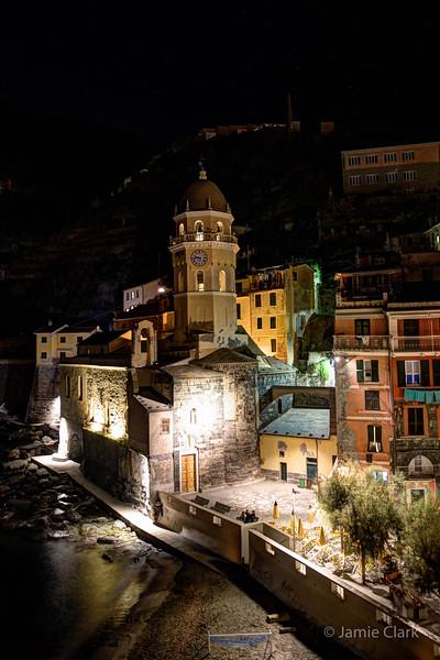 Our Silver Room Window in Vernazza, Cinque Terre, Italy -  October 2017