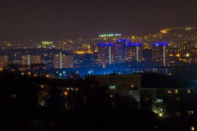 Night Photography, Clydebank and Glasgow