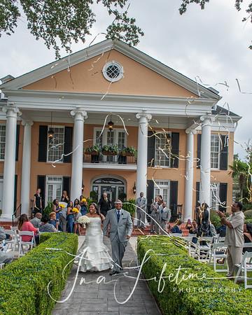 Montgomery-Battles Wedding at Southern Oaks Plantation