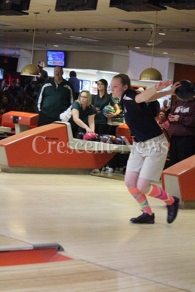 02-15-14 SPORTS Girls Sectional Bowling @ Nap