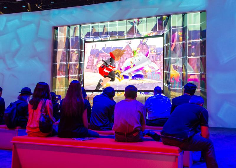Square Enix theatre at E3 2012