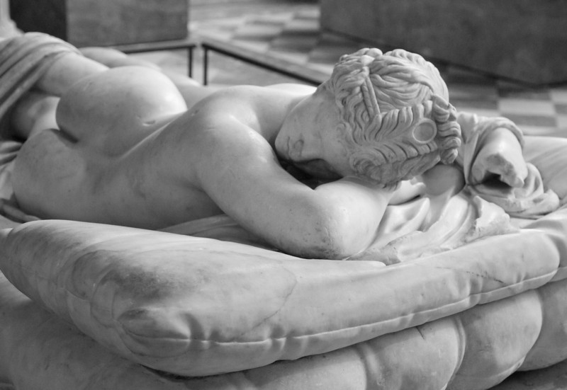 Hermaphrodite, Louvre