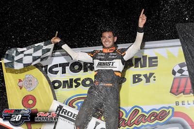 Port Royal Speedway - All Star Sprints - 7/19/20 - Michael Fry
