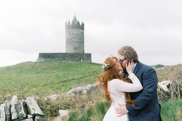 Courtney and Tony in Ireland