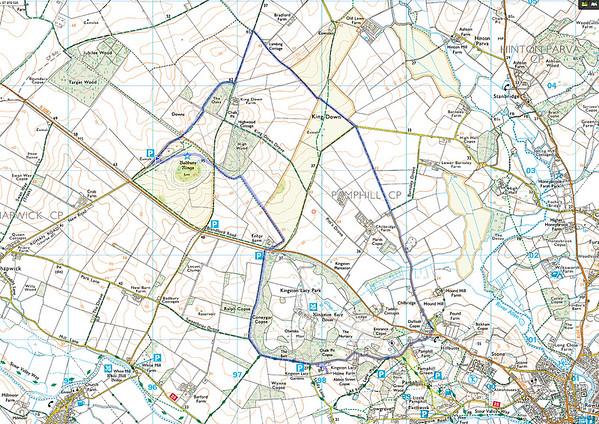 8 miles from Badbury Rings