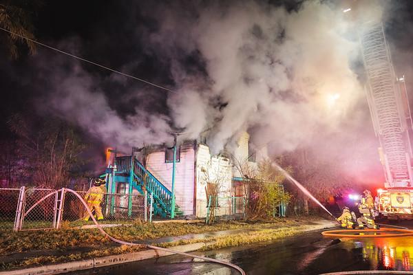 Vacant Dwelling Fire - 500 Frank Ave, San Antonio, TX  - 1/2/21