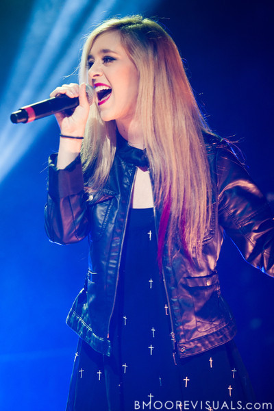 Megan & Liz perform on December 8, 2012 during the Y100 Jingle Ball at BB&T Center in Sunrise, Florida