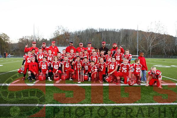11-13-16 Pee Wee Red vs Pee Wee White