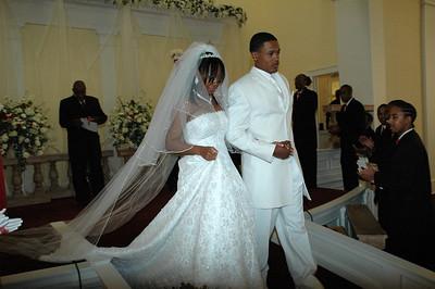 Chasidy & Carlos Franklin Wedding April 13, 2008
