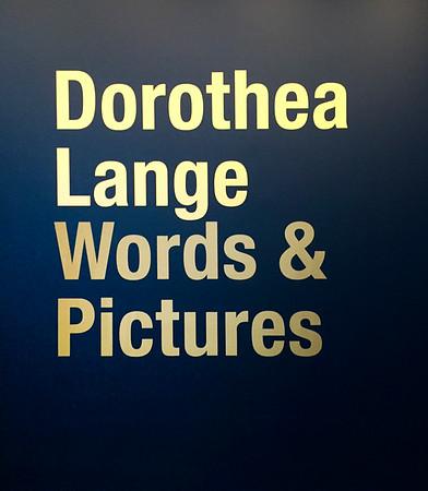 Visit February 2020 - Dorothea Lange