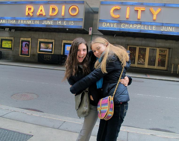 New York April 2014