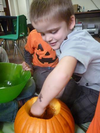 TK pumpkin carving 2013