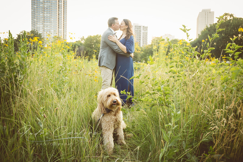engagement photographer in lake county