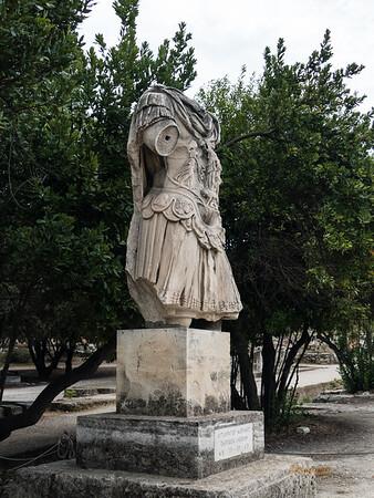 Hadrian's Statue, Athens, Greece