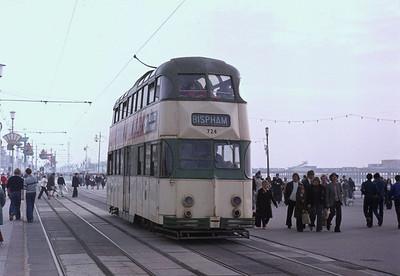 Blackpool trams