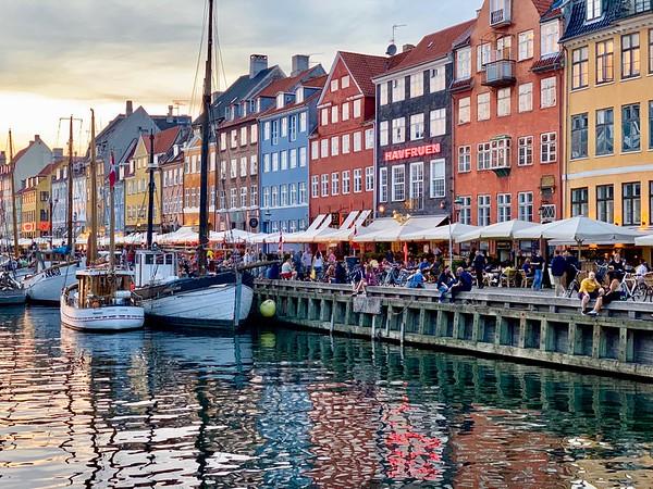 Nyhavn (New Harbor) Morning & Evening