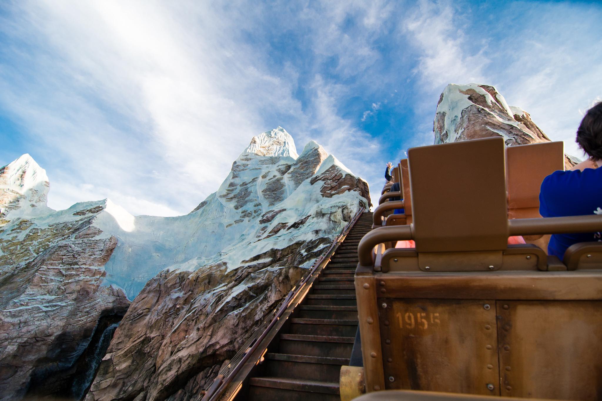 Expedition Everest at Disney's Animal Kingdom - UP!